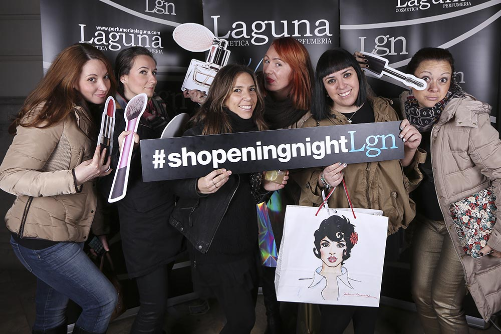Photocall Laguna shopening night84978