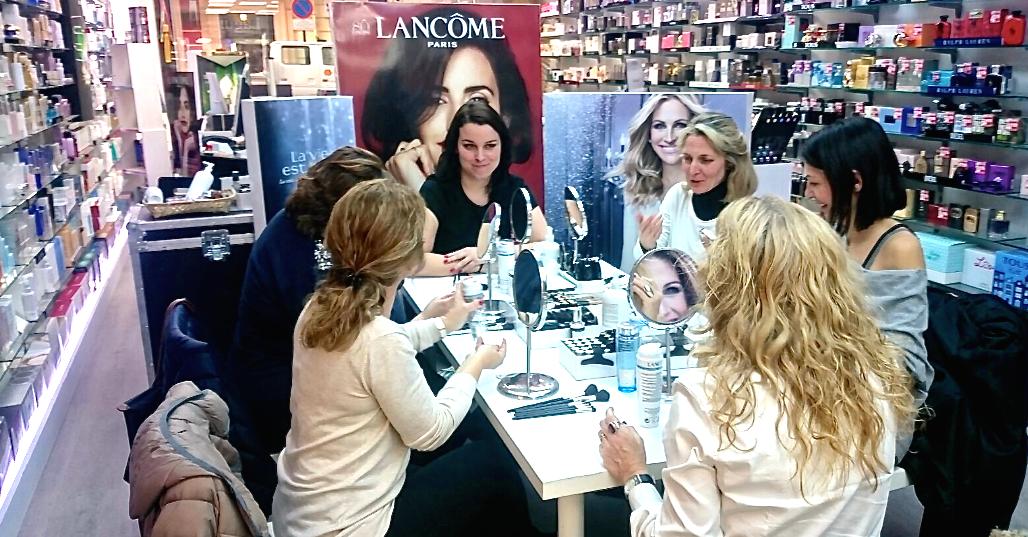 evento Lancome en Perfumerías Laguna