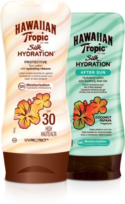 Aften sun Hawaiian Tropic