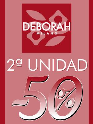 Maquillaje Deborah 2a unidad al 50%