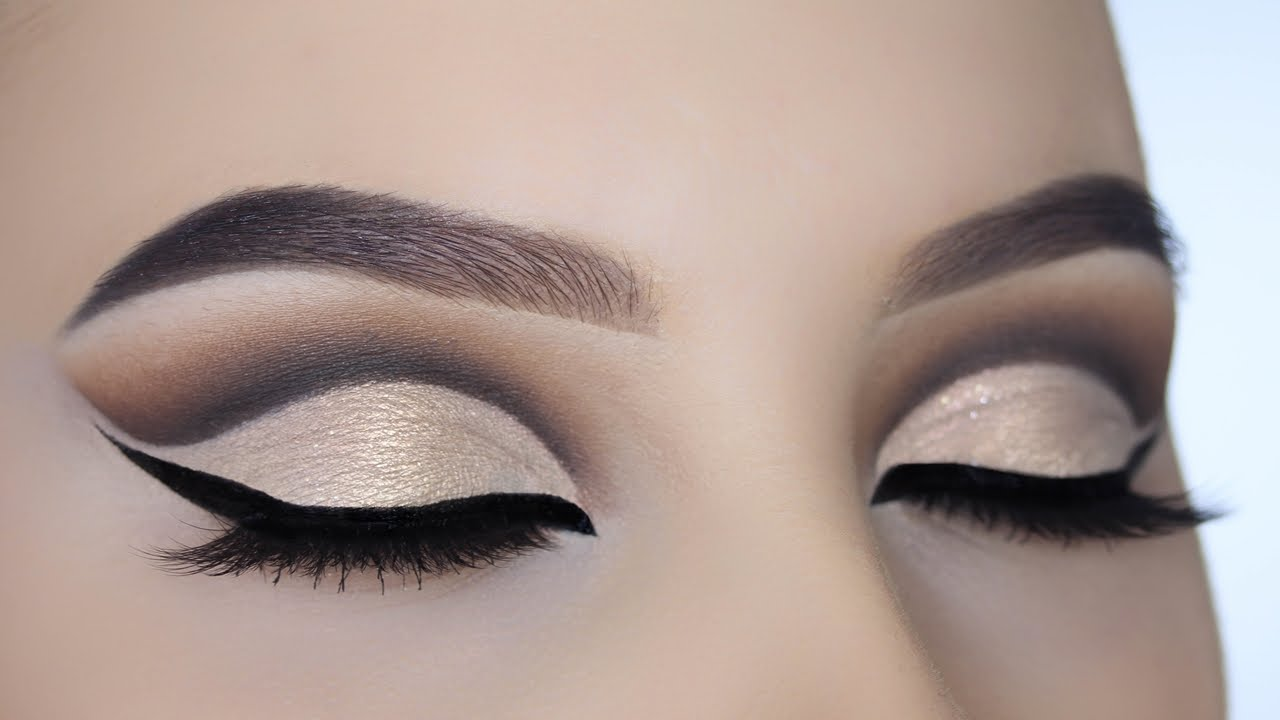 Champagne Gold Cut Crease Tutorial